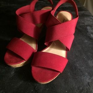 Size 7 American Eagle high heeled sandals